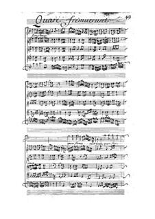 Quare fremuerunt, LWV 67: Quare fremuerunt by Жан-Батист Люлли