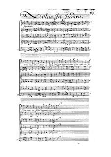 Notus in Judaea, LWV 77/17: Notus in Judaea by Жан-Батист Люлли