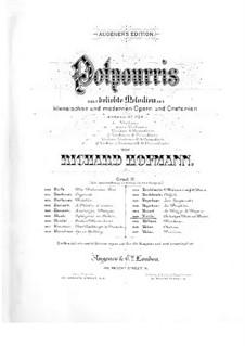 Виндзорские проказницы: Попурри для скрипки и фортепиано by Отто Николаи