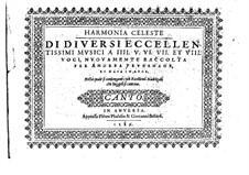 Harmonia Celeste: Harmonia Celeste by André Pevernage