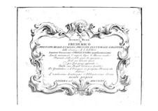 Двенадцать кантат для голоса и бассо континуо: Двенадцать кантат для голоса и бассо континуо by Никола Порпора