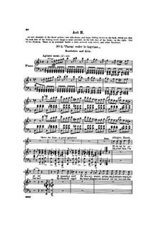 Фрагменты: Акт II, для голосов и фортепиано by Джузеппе Верди