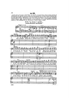 Фрагменты: Акт III, для голосов и фортепиано by Джузеппе Верди