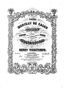 Six Salon Pieces, Op.22: No.2 Air varié – Part by Анри Вьетан
