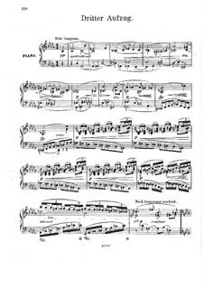 Фрагменты: Акт III, для фортепиано by Рихард Вагнер