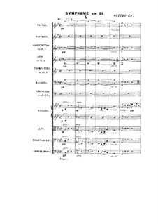 Symphony in B Flat Major: Symphony in B Flat Major by Людвиг ван Бетховен
