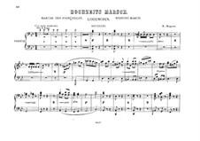 Свадебный хор: Для двух фортепиано в восемь рук – Партия второго фортепиано by Рихард Вагнер
