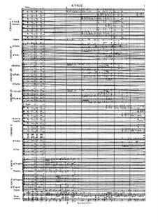 Missa Salisburgensis, C. App. 101: Kyrie by Генрих Игнац фон Бибер