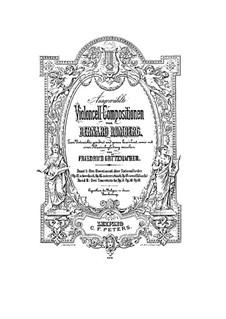 Вариации на оригинальную тему и Рондо для виолончели и фортепиано, Op.61: Вариации на оригинальную тему и Рондо для виолончели и фортепиано by Бернхард Ромберг