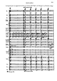 Отелло: Акт III. Балетная сюита by Джузеппе Верди