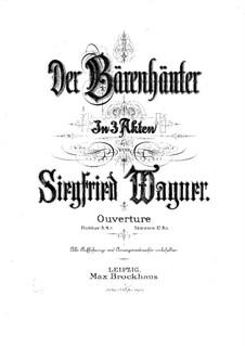 Бездельник. Увертюра, Op.1: Бездельник. Увертюра by Зигфрид Вагнер