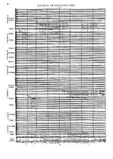 Missa Salisburgensis, C. App. 101: Gloria by Генрих Игнац фон Бибер