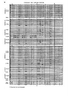 Missa Salisburgensis, C. App. 101: Credo by Генрих Игнац фон Бибер