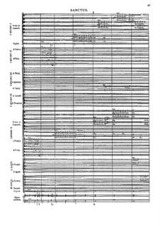 Missa Salisburgensis, C. App. 101: Sanctus by Генрих Игнац фон Бибер