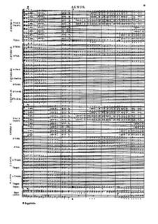 Missa Salisburgensis, C. App. 101: Agnus Dei by Генрих Игнац фон Бибер