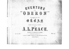Увертюра: Для органа by Карл Мария фон Вебер