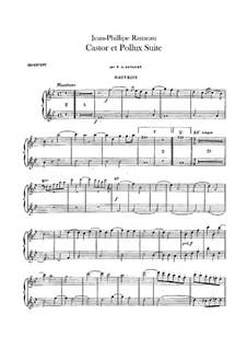 Сюита для оркестра: Партии гобоев by Жан-Филипп Рамо