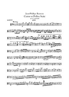 Сюита для оркестра: Партия альтов by Жан-Филипп Рамо