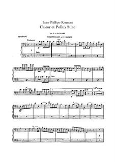 Сюита для оркестра: Партии виолончелей и контрабасов by Жан-Филипп Рамо