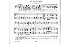 Пять немецких песен для голоса и гитары (или фортепиано), Op.25: Nr.4 Bettlerlied (I und mein junges Weib), J.137 by Карл Мария фон Вебер