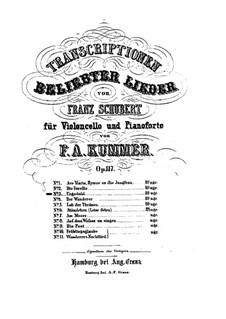No.7 Нетерпение: Для виолончели и фортепиано by Франц Шуберт