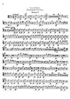 Увертюра: Партии тромбонов by Франц Шуберт