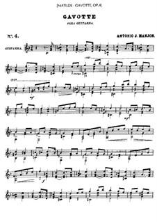 Gavotte, Op.4: Гавот by Антонио Хименос Маньон