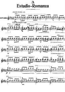 Estudio-Romanza: Estudio-Romanza by Антонио Хименос Маньон