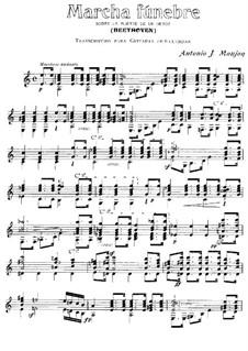 Funeral March on the Death of a Hero: Для гитары by Людвиг ван Бетховен