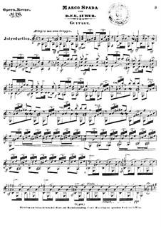 Марко Спада или Дочь бандита: Избранные мелодии для гитары by Даниэль Обер