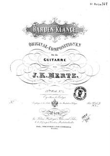 Barden-Klänge (Bardic Sounds), Op.13: No.3-5 by Иоганн Каспар Мерц