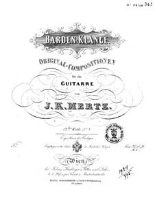 Barden-Klänge (Bardic Sounds), Op.13: No.6-8 by Иоганн Каспар Мерц