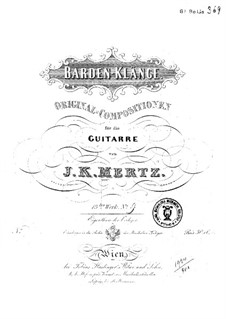 Barden-Klänge (Bardic Sounds), Op.13: No.16 Rondino by Иоганн Каспар Мерц