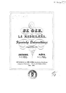 Два испанских национальных танца, Op.89: Для гитары by Иоганн Каспар Мерц