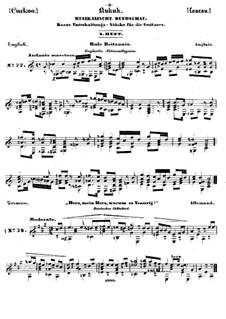 Kukuk. Musikalische Rundschau: Heft VIII by Иоганн Каспар Мерц