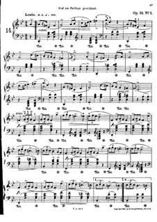 Мазурки, Op.24: No.1-2 by Фредерик Шопен