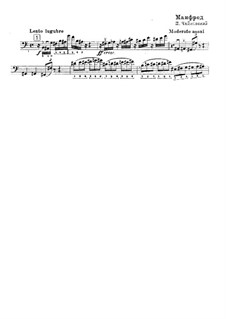 Симфония 'Манфред', TH 28 Op.58: Соло из партии контрабаса by Петр Чайковский