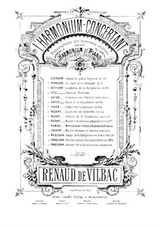 Свадебный марш: Для фисгармонии и фортепиано – Партия фисгармонии by Феликс Мендельсон-Бартольди