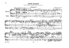Сонаты для органа, Op.65: Соната No.1 by Феликс Мендельсон-Бартольди