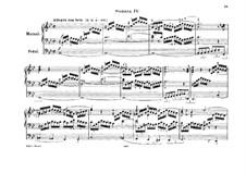 Сонаты для органа, Op.65: Соната No.4 by Феликс Мендельсон-Бартольди