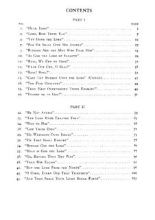 Илия, Op.70: Вокальная партитура by Феликс Мендельсон-Бартольди