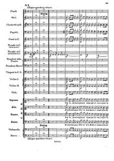 Музыка к пьесе 'Аталия', Op.74: No.1 Choir 'Herr, durch die ganze Welt ist deine Macht' by Феликс Мендельсон-Бартольди