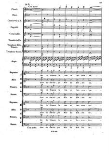 Музыка к пьесе 'Аталия', Op.74: No.3 Double Choir 'Lasst uns dem heil'gen Wort' by Феликс Мендельсон-Бартольди
