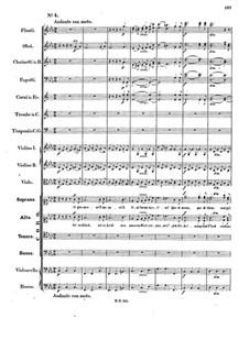 Музыка к пьесе 'Аталия', Op.74: No.4 Choir 'Ist es Glück, ist es Leid' by Феликс Мендельсон-Бартольди