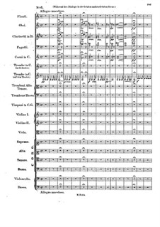 Музыка к пьесе 'Аталия', Op.74: No.6 Choir 'Ja, durch die ganze Welt' by Феликс Мендельсон-Бартольди