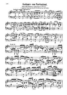 Вариации ми-бемоль мажор, Op.82: Для фортепиано by Феликс Мендельсон-Бартольди