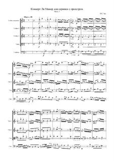 Концерт для скрипки, струнных и бассо континуо No.1 ля минор, BWV 1041: Часть I by Иоганн Себастьян Бах