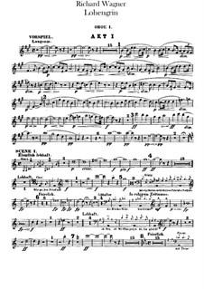 Вся опера: Партии гобоев и английского рожка by Рихард Вагнер