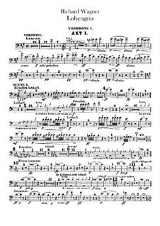 Вся опера: Партии тромбонов и тубы by Рихард Вагнер