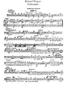 Вся опера: Партии ударных by Рихард Вагнер